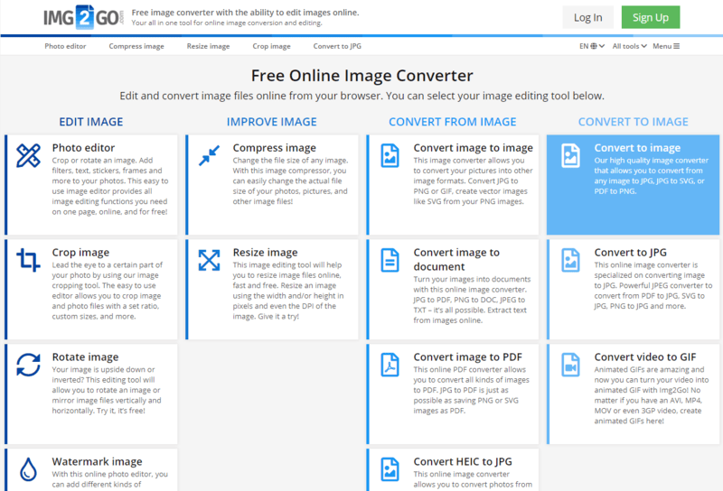 Convert To Image Online Convert Png To Jpg And More